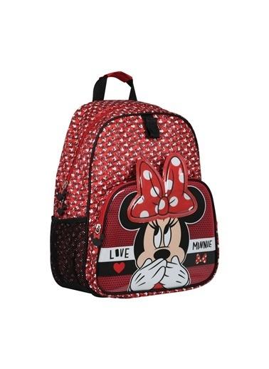 Mickey Mouse Omuz Çantası Kırmızı